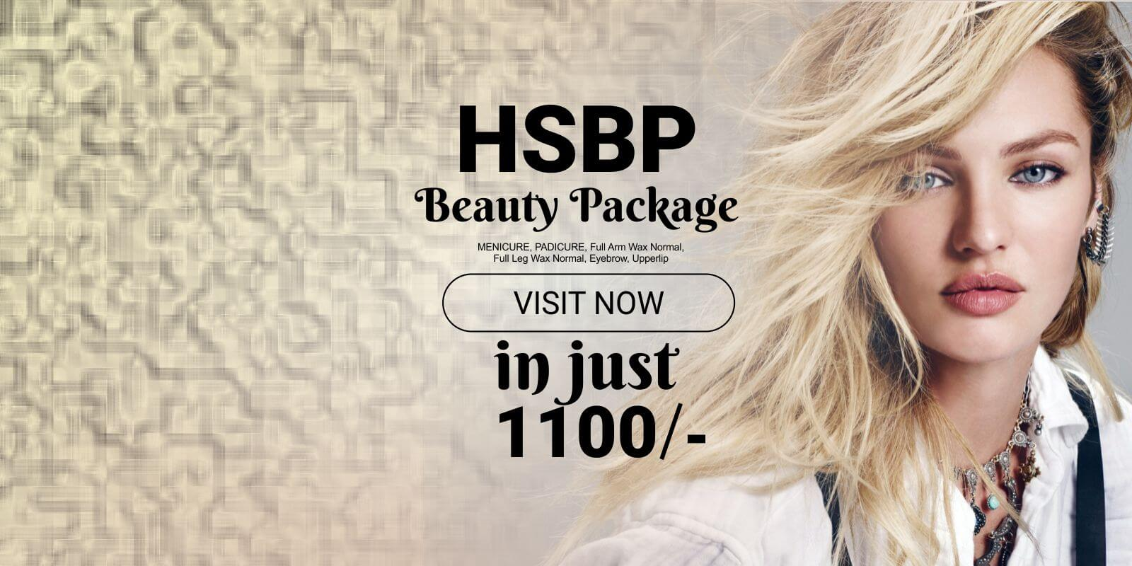 HSBP - Beauty services at Home