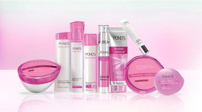 ponds beauty products